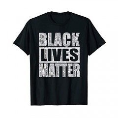 Black Lives Matter Shirts I Can't Breathe Tee Distressed BLM Protest T-Shirt