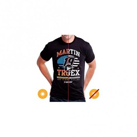 Del Sol Color-Changing NASCAR Men's Martin Truex Jr Classic Crew T-Shirt