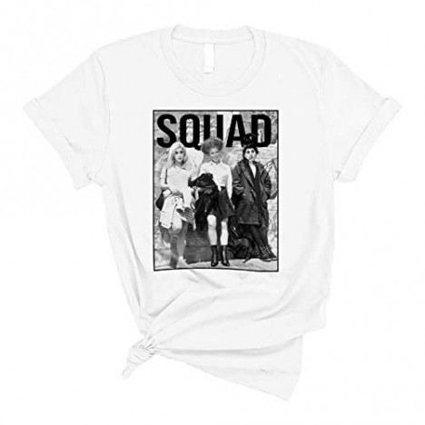 NuffSaid The Sanderson Sisters Squad HP T-Shirt - Funny Unisex Halloween Group Craft Tee